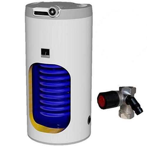 Warmwasserspeicher Standspeicher Solarspeicher Boiler Universalspeicher mit 1 oder 2 Wärmetauscher in den Größen 100 125 160 200 250 L Liter