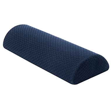 Carex Semi Roll Pillow, Ergonomic Pillow for Reducing Head, Shoulder, Neck & Back Discomfort for Better Sleep