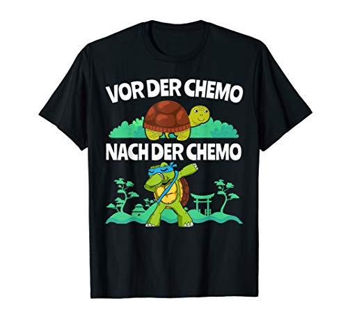 Für Kämpfer gegen Krebs | Chemotherapie Leukämie Schildkröte T-Shirt