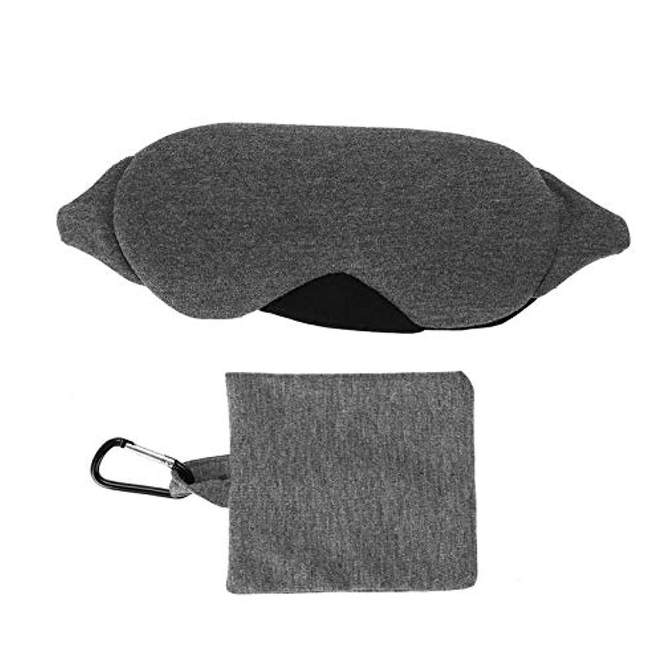 歴史家提供するジャンクNOTE 調節可能な睡眠マスク通気性アイシェードカバー睡眠目隠しアイパッチ旅行ツール