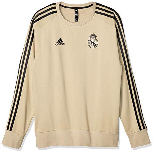 adidas Herren REAL SWT TOP Sweatshirt, Oronat/Negro, 2XL