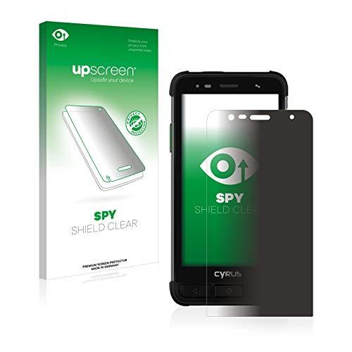 upscreen Anti-Spy Blickschutzfolie kompatibel mit Cyrus CS45 XA Privacy Screen Sichtschutz Bildschirmschutz-Folie