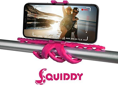 Celly Setwady statief voor smartphone/action-camera, 6 voeten, roze, silicone, 200 mm