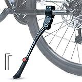 Bike Kickstand Adjustable Bicycle Kickstand Adults fit for 22 24 26 28 Inch Mountain Bike/Road Bike/Folding Bicycle/City Bike/Dirt Bike Kickstand