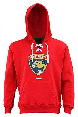 Reebok NHL Men's Primary Jersey Pullover Hoodie, Florida Panthers