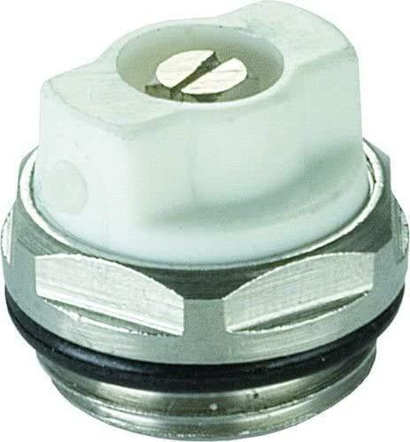 Purgador toallero radiador 1/2 • Giratorio Manual • Universal • Purgador Calefaccion 1/2' - 1 Unidad