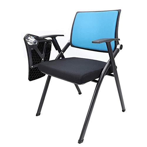 CTO Büro Klappstuhl, abnehmbare Rückenlehne Konferenz Trainingsstuhl Klappstab Besprechungsraum Stuhl mit Schreibtisch Tisch Stuhl Task Chair,Style 2,Packen von 1