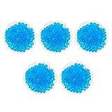 Hemoton 5 sacchetti riutilizzabili in gel caldo e freddo, cuscinetti riscaldabili in gel p...