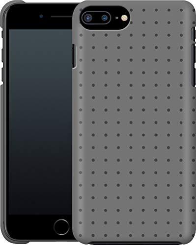 Funda para Smartphone iPhone 7 Plus, diseño de Lunares, Color Gris