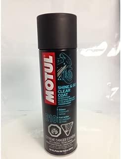 Motul 818814 Shine & Go Silicone Cleaner 13 Oz aerosol Spray can (ea) for Off-Roads (C02008739)