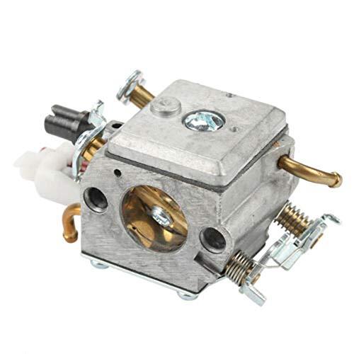 YINLAN Compatible para Husqvarna 340 345 346 350 353 Alturas Lineación Kit de carburador Kit Motosierra Parte de reemplazo Accesorios para Herramientas de jardín carburador