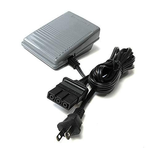 Pedal con cable para Brother Xl2021 Xl2120 Xl2130 Xl2140 Xl2230 Xl3800 Xl4013+