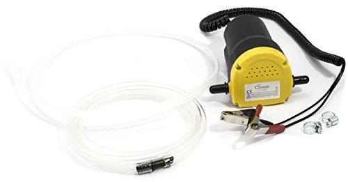 Hausen - Pompe de vidange - électrique - huile/gasoil/carburant - voiture/moto - 12 V/60 W