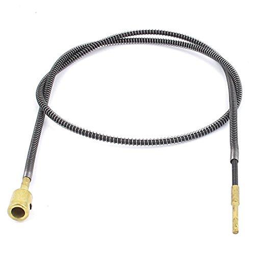 Sourcingmap a13042300ux0623-3.2ft de metal cable eje flexible para la amoladora de banco...