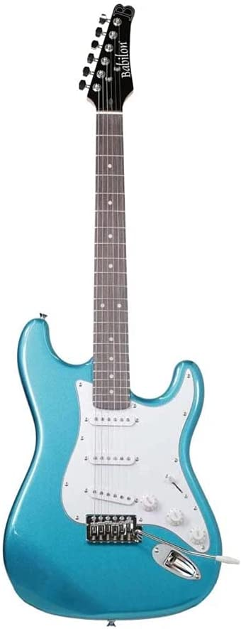 Babilon Electric Max 61% OFF Seattle Mall Guitar Blue