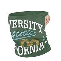 カリフォルニア大学アメリカンフットボールスクール マッ 88 ネックカバー バンダナ 秋 冬 防寒 暖かい チューブ型 ネックウォーマー フェイスカバー 多機能 耳かけ式 冷感 日よけ Uvカット吸汗速乾 アウトドア活動 男女兼用