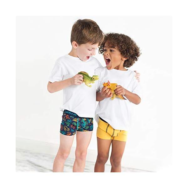 Lucky & Me | Liam Boys Boxer Briefs | Children's Tagless Soft Cotton Underwear | 3 Pack