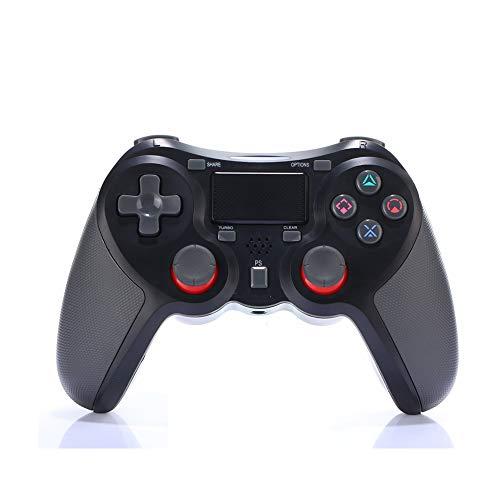 VAWA Manette de jeu sans fil Bluetooth 4.0 Double chargeur rapide avec affichage LED pour manette de jeu Playstation 4/PS4 Slim / PS4 Pro, 1, noir, size
