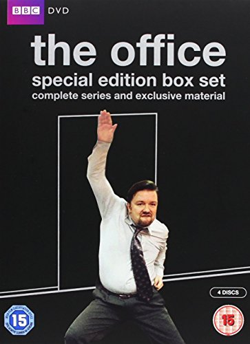 The Office 10th Anniversary Edition: Complete Series 1 & 2 and the Christmas Specials [DVD]