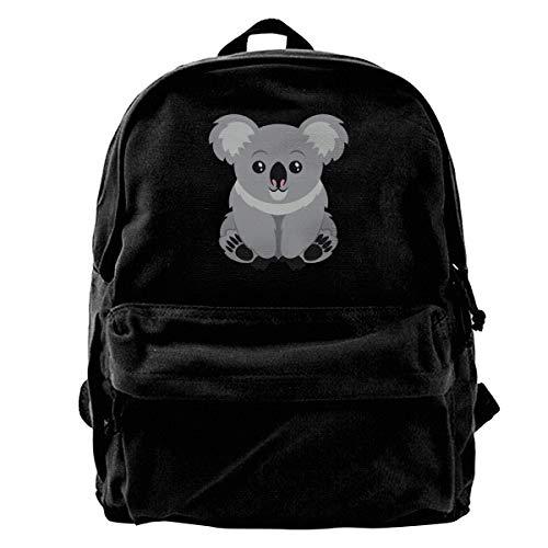 Australia Koala Bear Mochilas para Niñas Niños Niños Mochilas Escolares Mochila Linda Casual Extra Durable Impermeable Ligero Viajes Deportes Estudiante Bolsa