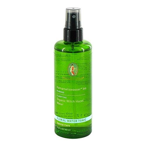 PRIMAVERA Pflanzenwasser Hamameliswasser bio 100 ml - Körperspray, Hautpflege, Aromatherapie - antiseptisch, klärend - vegan