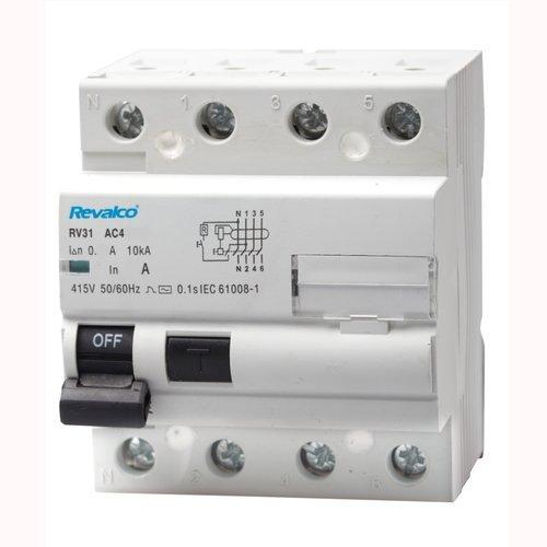 Interruptor diferencial SUPERINMUNIZADO 4P 25A 30mA 10kA   Revalco