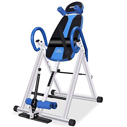 WGYDREAM Panca a Inversione Tabella di inversione - Trainer con Sistema Perfect Balance Peso Massimo utente 135 kg - Migliora Il Mal di Schiena e la Postura (Color : Blue)