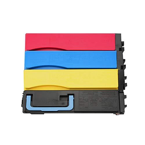 VNZQ TK553 Tonerkartusche, kompatibel mit Kyocera Printer FS-C5200DN Tonerkartusche Trommelkartusche Trommelsatz Kopierer Laserdrucker Verbrauchsmaterial-4pcs