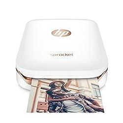 Imprime directement depuis votre téléphone portable ou tablette via Bluetooth Photos couleur de 5 x 7,6 cm - sans bordure et aux couleurs vives Fonctionne avec le papier photo HP ZINK - le papier sans encre et sans bavure Utilise l'application HP Spr...