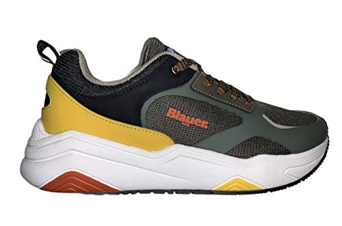 Blauer TOK01 Sneakers Casual Scarpe Uomo Verde Verde/45