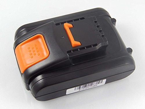 vhbw batería compatible con Worx WX678.9, WG329E, WX175, WX292, WX373, WX166.3, WG157E, WG163E, WG260E.9, WG546E herramientas (1500mAh Li-Ion 20V)