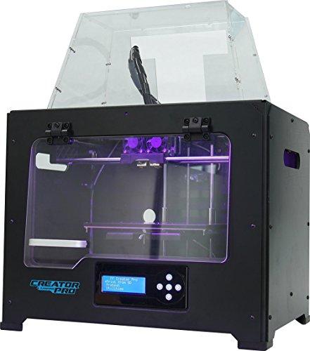 Stampante 3D flashforge creator pro dual extruder nera