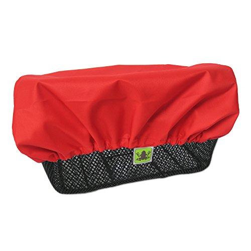 MadeForRain Regenschutz/Abdeckung für Fahrradkörbe CityTurtle - Tomatenrot
