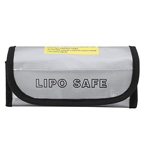Kadimendium Aísle eficazmente la batería Bolsa Segura a Prueba de explosiones de Fuego Portátil de Carga de protección Ligera para Proteger la batería para almacenar la batería