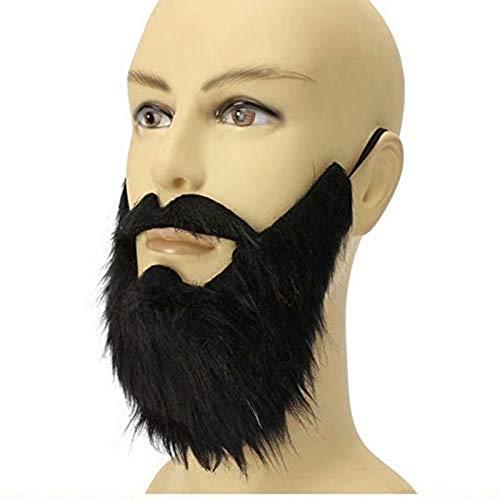 Ungfu Mall Masken, falscher Bart mit Schnurrbart, Maskerade und Partymaske