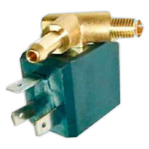 DOJA Industrial | Electrovalvula vaporeta derecha 90° | Entrada 1/8 / Salida diámetro 6 mm
