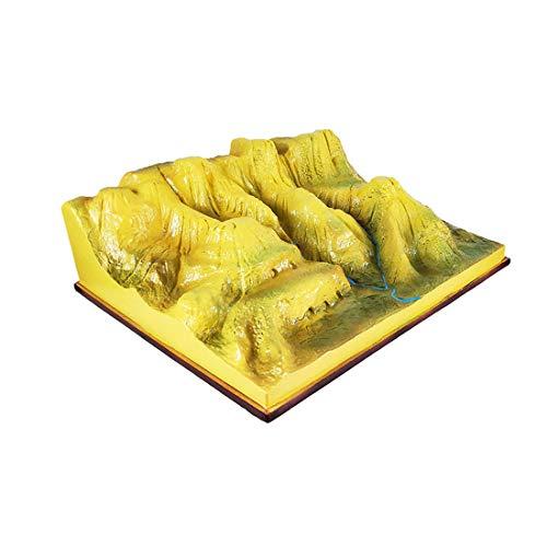 GEEFSU-Geografie-Unterrichtsmodell Geografische Struktur des Lössplateaus Das für Die Anzeige Im Klassenzimmer Der Mittelschule Verwendet Wird