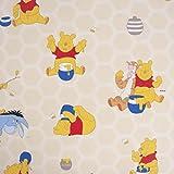 Dekostoff Baumwollstoff Winnie Pooh beige 140cm Breite