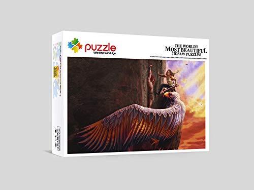RNGNB Puzzles Puzzle Adultos 1000 Piezas Adultos Puzzle Creativo Juegos De Rompecabezas para Niños Adultos Mitología 29.52In X 19.68In