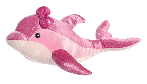 "Adventure Planet Birth of Life Dolphin with Baby Plush Toy 22/"" Long"