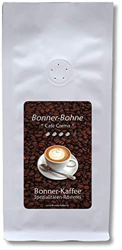 Bonner-Bohne * Cafe Crema * - röstfrischer Gourmet-Kaffee - 100% Arabica - 1 kg