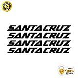 ADHESIVOS MOTOS CLASICAS Bike Stickers - Bike Decorative Sticker - Vinyl Bike Sticker Set Santa Cruz 4 Stickers Bike Frame Bike Mountain