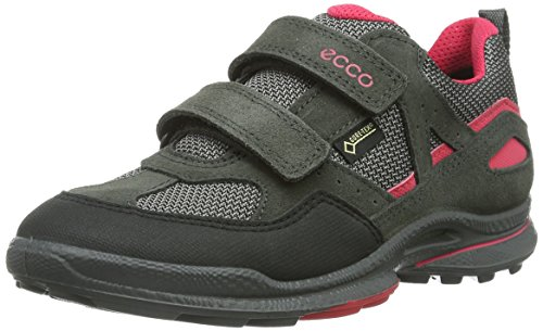 Ecco ECCO BIOM ULTRA KIDS, Jungen Sneakers, Schwarz-Rosa (BLACK/DARK SHADOW/TEABERRY 58674), 31 EU (12.5 Kinder UK)