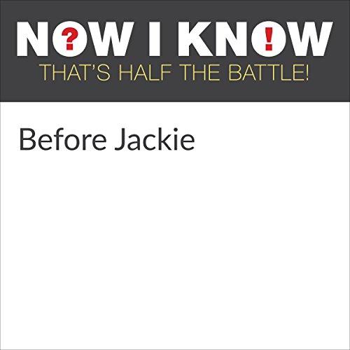 Diseño de la portada del título Before Jackie