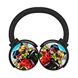 Ladybug Girl Bluetooth Headset Headphone Wireless 3D DIY Portable Over Ear Earphone Support Expansion Cards