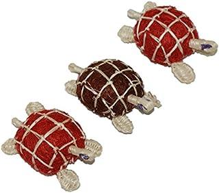 Bath Sponge made of 100% Henequen Fiber Turtle design (Set of 3) /