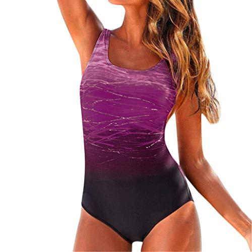 Bikinis Tallas Grandes Mujer Mono Camisolas Tangas Sexys Mujer Verano Playa Vacaciones Traje de baño una Pieza Bañadores de Mujer Natacion 1pc