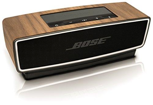 Funda balolo® de madera auténtica de nogal para el Bose SoundLink Mini II
