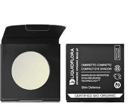 Liquidflora Recharge Fard Compact Bio 07 White Silver Blanc Yeux