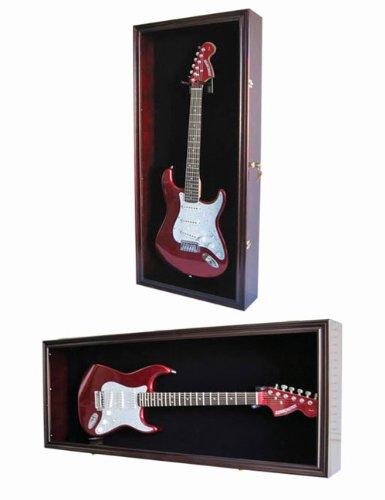 Guitar Display Case Cabinet